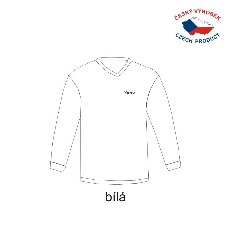 77e1bd90e84 Fotbalové dresy VONO jednobarevné – dlouhý rukáv - VONO SPORT s.r.o. ...